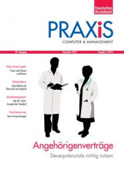 Deutsches Ärzteblatt 39/2013 SUPPLEMENT: PRAXiS