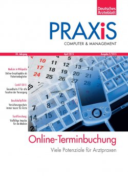 Deutsches Ärzteblatt 15/2015 SUPPLEMENT: PRAXiS