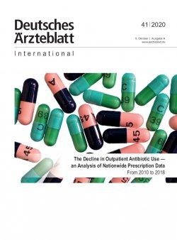 Dtsch Arztebl Int 2020; 117(41)