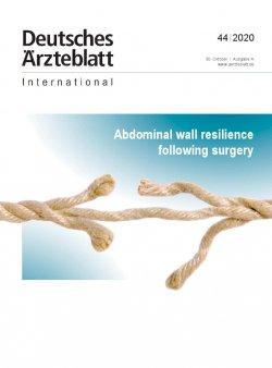 Dtsch Arztebl Int 2020; 117(44)