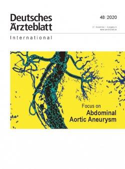 Dtsch Arztebl Int 2020; 117(48)