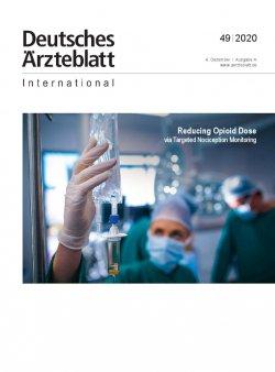 Dtsch Arztebl Int 2020; 117(49)