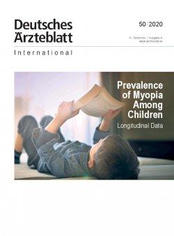 Dtsch Arztebl Int 2020; 117(50)