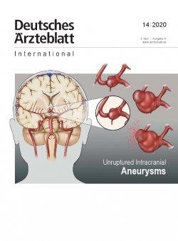 Dtsch Arztebl Int 2020; 117(14)
