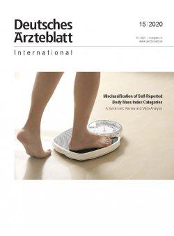 Dtsch Arztebl Int 2020; 117(15)