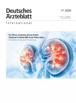 Dtsch Arztebl Int 2020; 117(17)