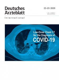 Dtsch Arztebl Int 2020; 117(22-23)