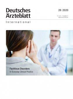 Dtsch Arztebl Int 2020; 117(26)