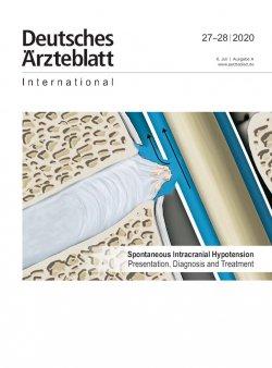 Dtsch Arztebl Int 2020; 117(27-28)