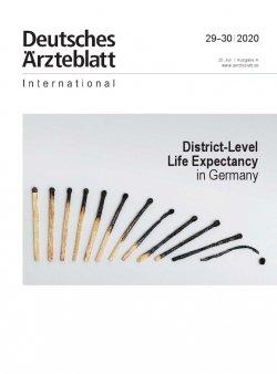 Dtsch Arztebl Int 2020; 117(29-30)
