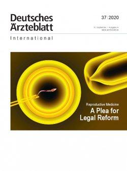 Dtsch Arztebl Int 2020; 117(37)