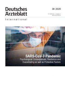 Dtsch Arztebl Int 2020; 117(38)
