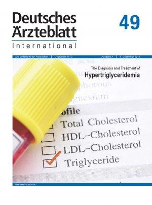 Dtsch Arztebl Int 2019; 116(49)