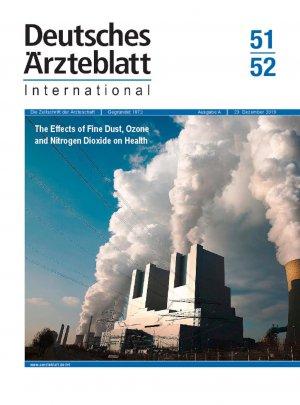 Dtsch Arztebl Int 2019; 116(51-52)