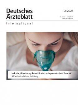 Dtsch Arztebl Int 2021; 118(3)
