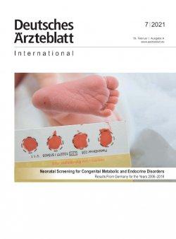 Dtsch Arztebl Int 2021; 118(7)