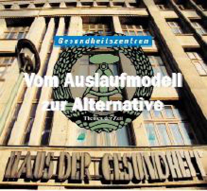 """Im Haus der Gesundheit schlossen sich bereits 1923 Ärzte zum ersten fachübergreifenden Ambulatorium der Stadt Berlin zusammen. Die Reichsärztekammer löste das Haus mit der Begründung der """"Verjudung"""" auf; die DDR eröffnete es 1948 als erste ambulante Poliklinik wieder."""