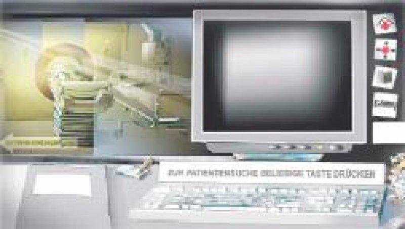 Der Arbeitsplatz Computertomographie