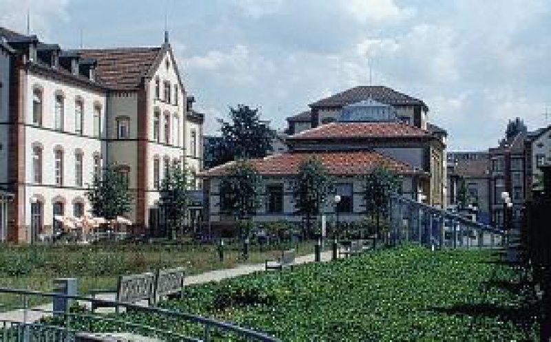 Sammlung Prinzhorn: Ansicht West Foto: Sammlung Prinzhorn