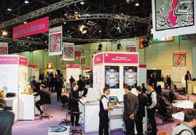 Die Medica Media ist auf 700 m2 Ausstellungsfläche angewachsen.