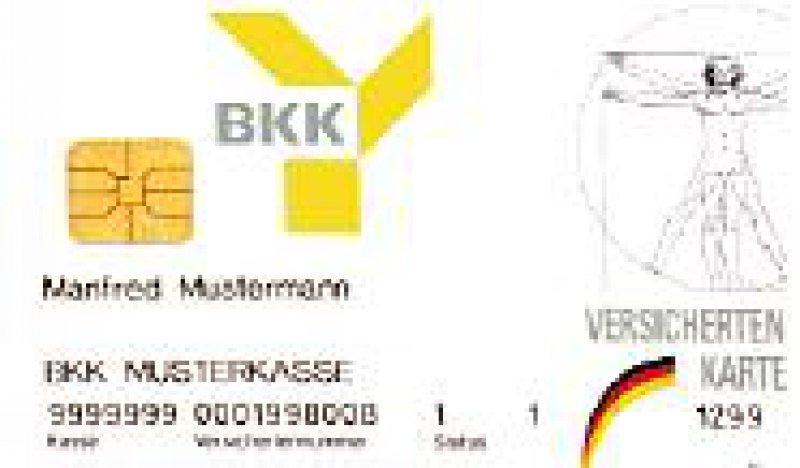 In Deutschland ist die Krankenversichertenkarte seit 1995 im Einsatz. Foto: Archiv