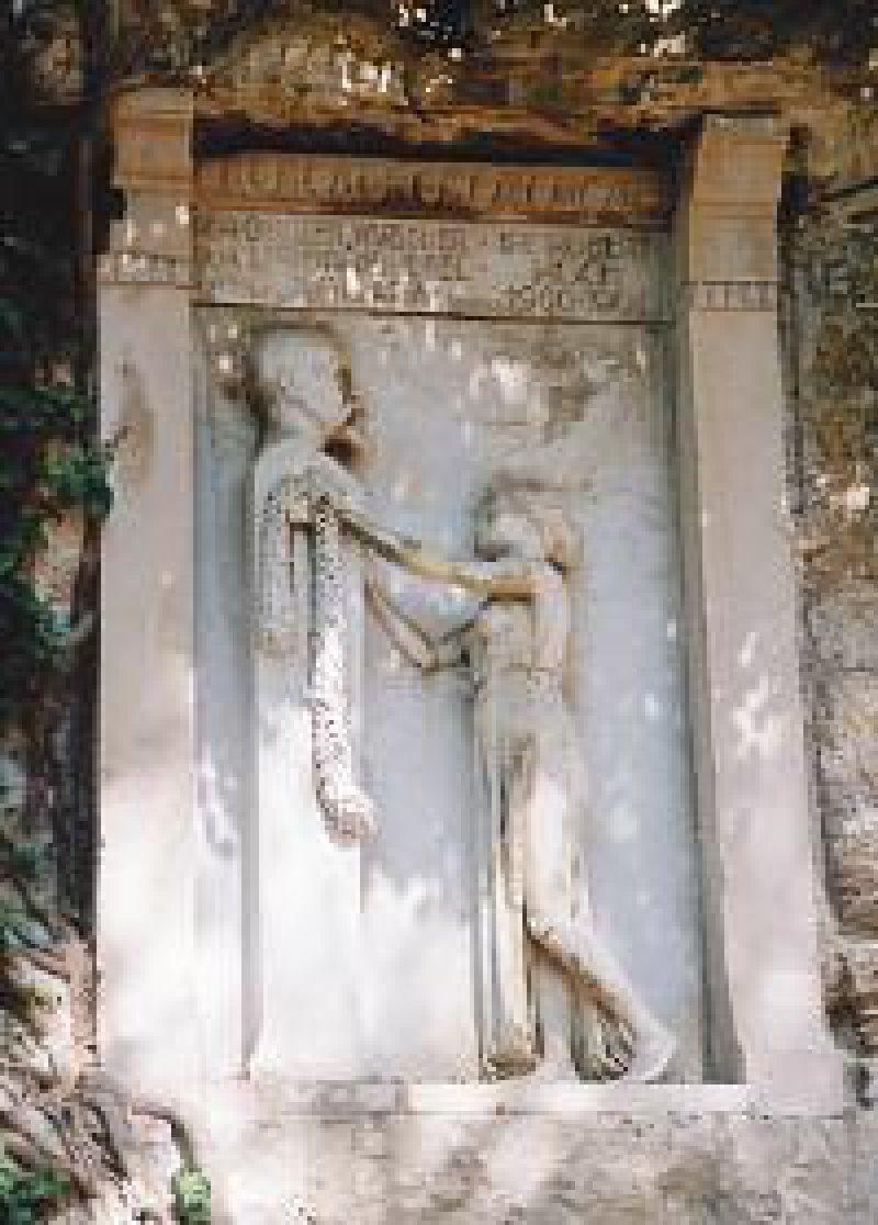 Der Wiener Bildhauer Josef Engelhart schuf ein Denkmal, das Robert Koch gewidmet ist. Foto: Karsten Mülder