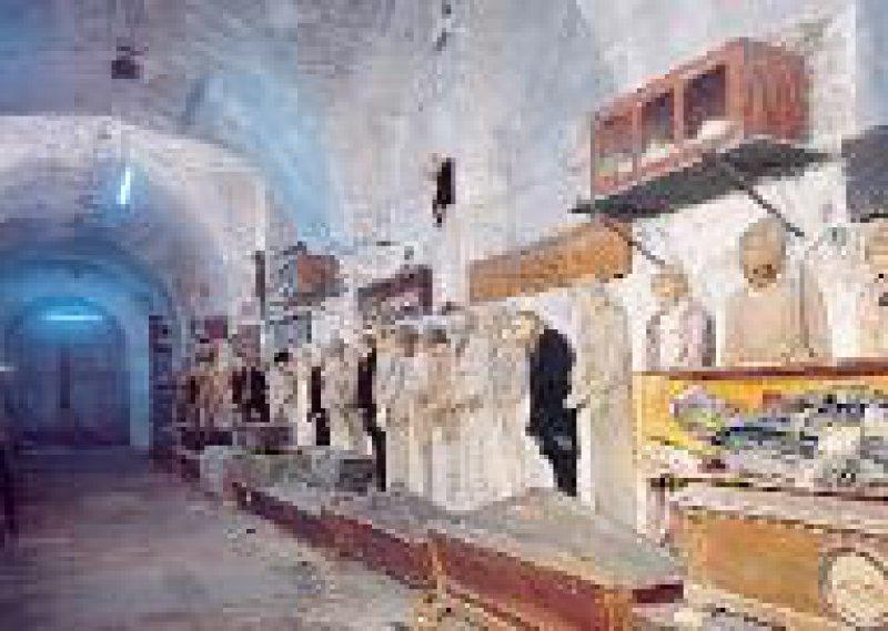 Mumien in den Kapuziner-Katakomben