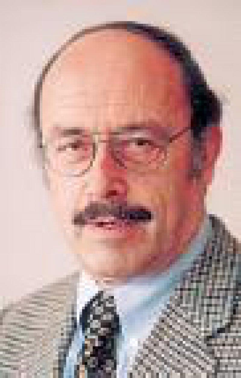 Prof. Dr. med. Gebhard von Jagow, Dekan des Fachbereichs Medizin der Universität Frankfurt/Main, Präsident des Medizinischen Fakultätentages (MFT)