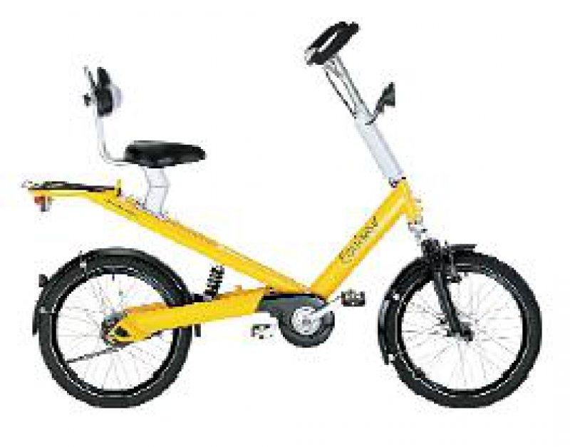 Equinox: einfach Platz nehmen und den Komfort des bedienungsfreundlichen Rads genießen. Fotos: Riese und Müller