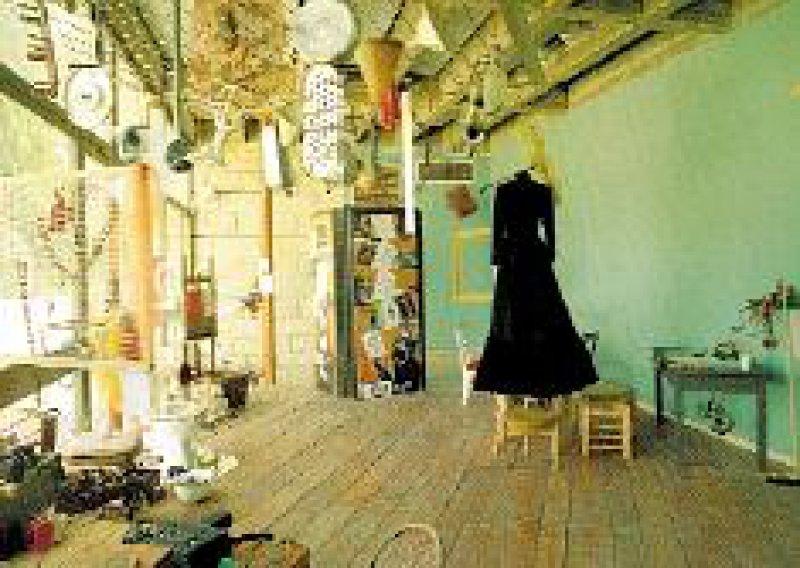 Überraschende Entdeckung in Ein Hod: ein Dada-Museum. Kinder können sich hier entfalten. Foto: Janco Dada-Museum