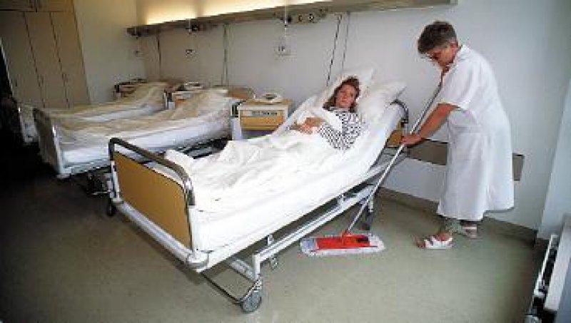 Die deutschen Empfehlungen zur Hygiene im Krankenhaus finden international keine Beachtung. Foto: dpa