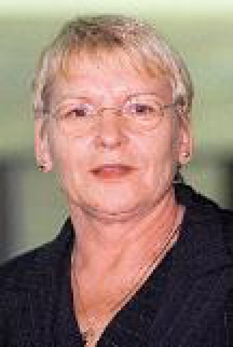 Dr. Ruth Fuchs, gesundheitspolitische Sprecherin der PDS-Fraktion. Foto: dpa
