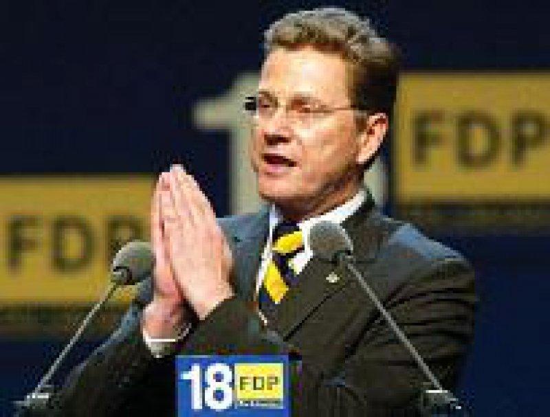 Guido Westerwelle: Kanzlerkandidat Foto: dpa