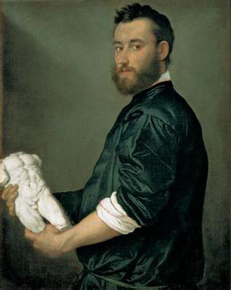Giovanni Battista Moroni (1520/24–1578), Bildnis des Bildhauers Alessandro Vittoria, um 1552, Öl auf Leinwand, 82,5 cm x 64,6 cm Fotos: Haus der Kunst