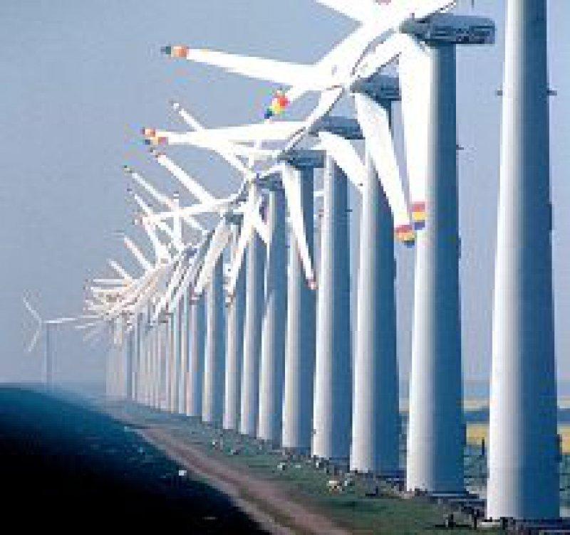 Für den Strom aus Windkraft sind ansehnliche Garantiepreise festgeschrieben. Foto: H.-G. Oed