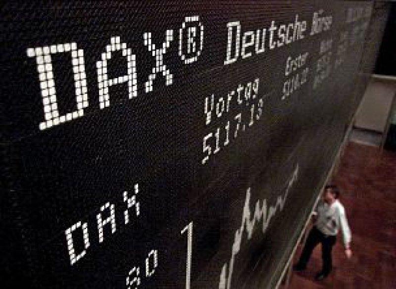 Der Wert einer indexorientierten Geldanlage bemisst sich weitgehend nach dem gewählten Börsenindex, zum Beispiel dem Deutschen Aktienindex DAX. Foto: ddp