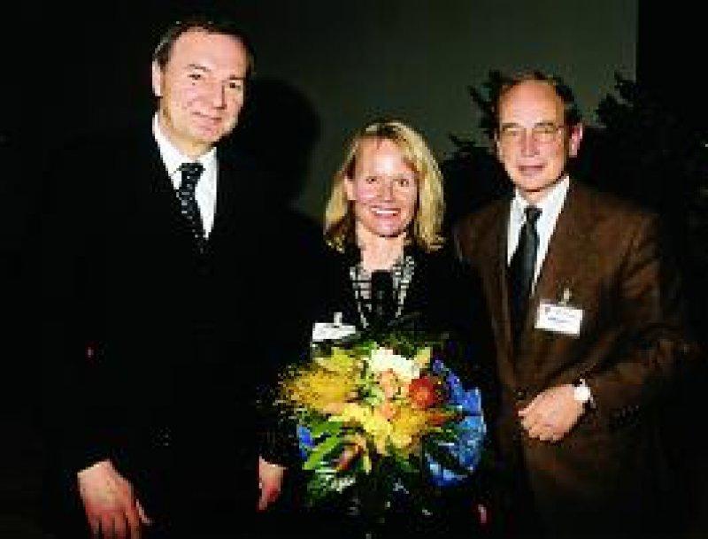 Susanne Lau erhielt den Klosterfrau-Forschungspreis. Foto: Klosterfrau-Forschung