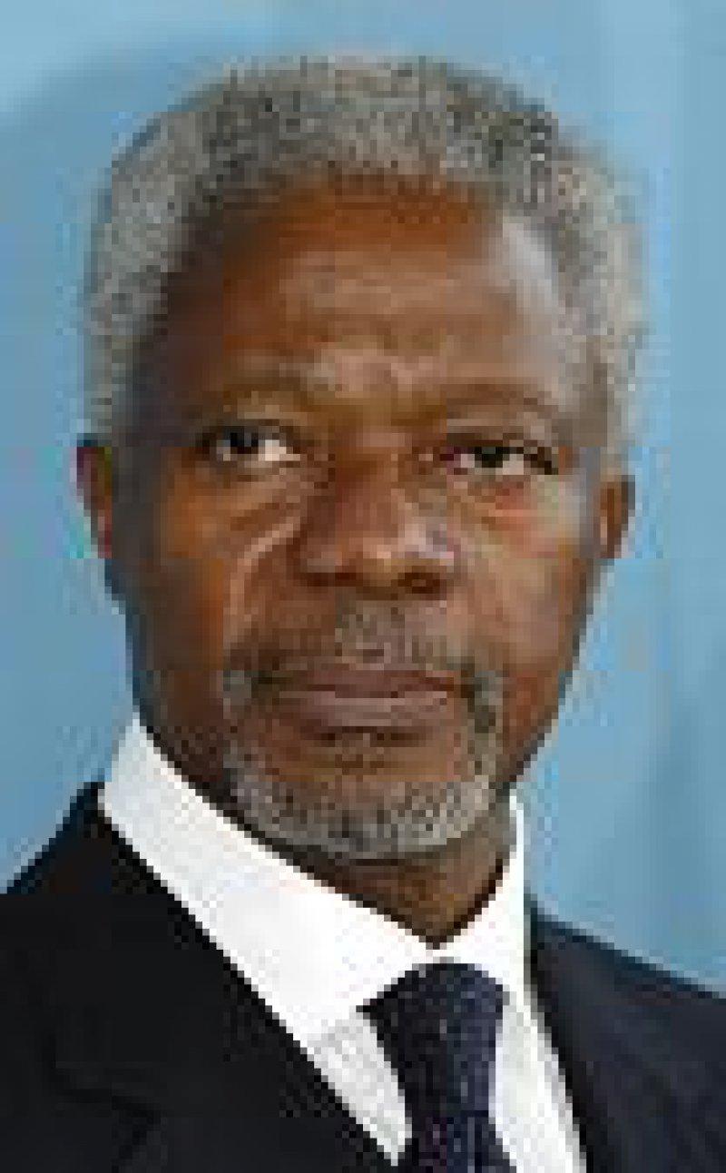 Kofi Annan. Foto: dpa
