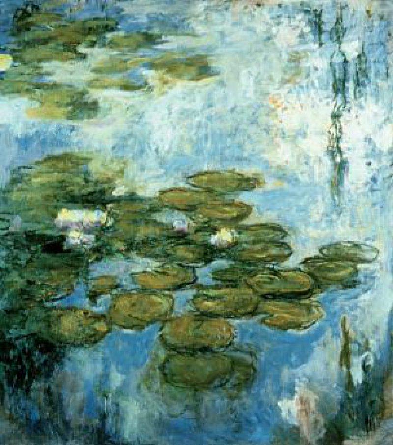 """Claude Monet: """"La Cathédrale"""", 1893, 107 cm x 74 cm Fotos: Fondation Beyerle"""