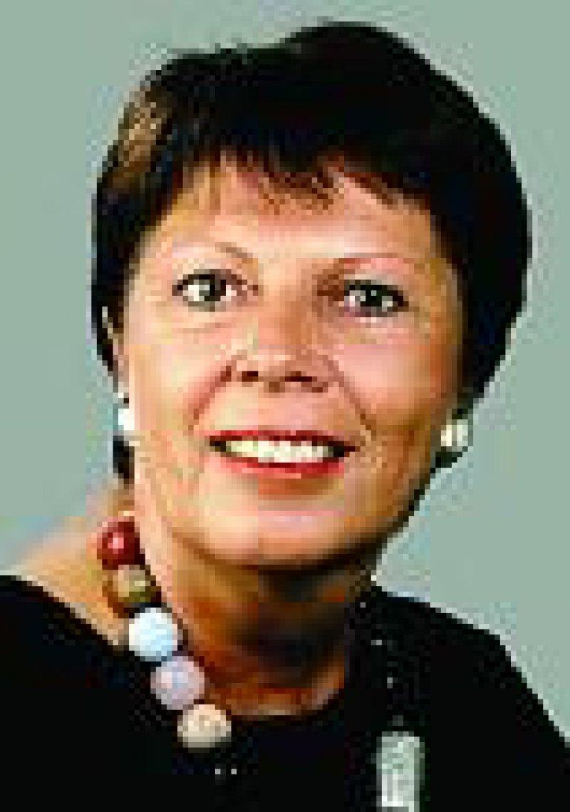 Gudrun Schaich-Walch, Parlamentarische Staatssekretärin im Bundesgesundheits ministerium: Ärzte sind an industrieunabhängigen Informationen interessiert. Foto: Deutscher Bundestag