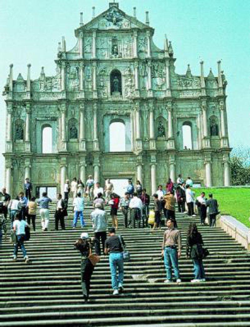 Kathedrale São Paulo (UNESCOKulturgut) in Macau Foto: Hans-Peter Sick
