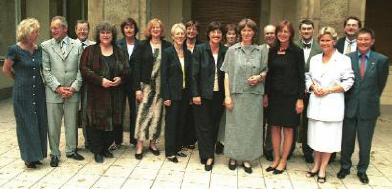 Seltener Anblick: Ministerinnen sind bei der GMK eindeutig in der Mehrzahl. Foto: Wilfried Meyer