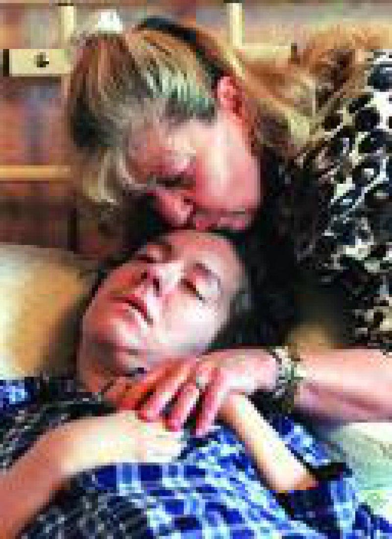 Die 33-jährige Britin Donna Mellowship erkrankte ebenfalls an der neuen Variante der Creutzfeldt-Jakob-Krankheit. Foto: dpa