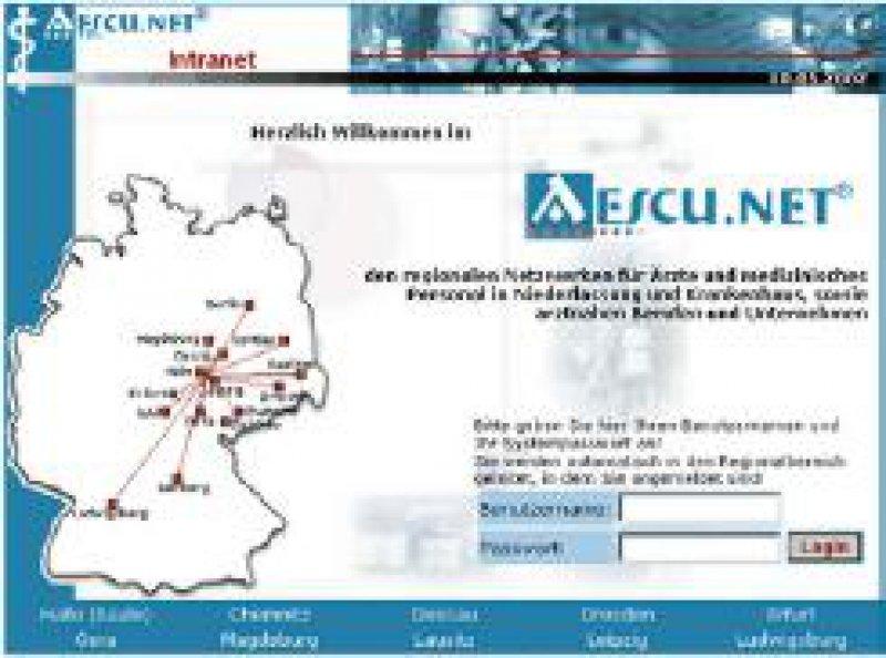 Die Homepage des Netzwerkes (www.aescu.net)