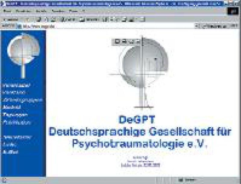 Die Websites der DeGPT (www.degpt.de) und des EMDR-Instituts Deutschland (www.emdrtherapie. de)