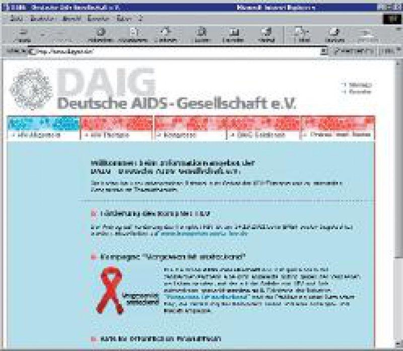 Abbildung 1: Web-Angebot der Deutschen Aids-Gesellschaft e. V. unter www.daignet. de Abbildung 2: Kampagne der Bundeszentrale für gesundheitliche Aufklärung: www.gib-aids-keinechance. de