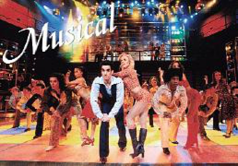 """Szene aus dem Musical """"Saturday Night Fever"""". Foto: Brinkhoff/Mögenburg"""