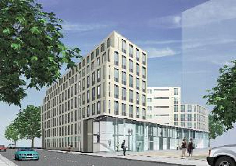 "So soll es aussehen: das ""Haus der Ärzteschaft"" am Salzufer in Berlin"