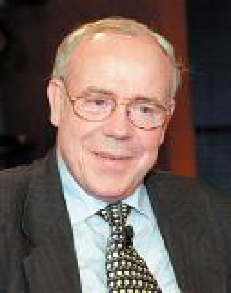 Prof. Dr. Ernst-Ludwig Winnacker, Präsident der Deutschen Forschungsgemeinschaft. Foto: dpa