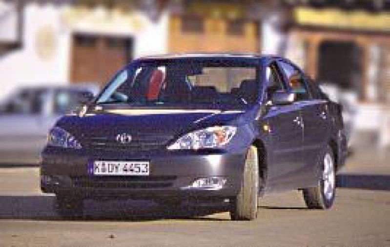 Der Toyota Camry, in den USA ein Verkaufsschlager, soll auf dem deutschen Markt Fuß fassen. Foto: Eberhard Hahne, Toyota
